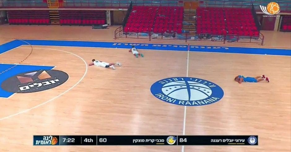 baloncesto bombas Israel