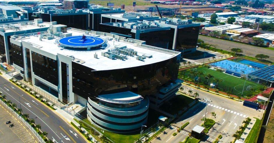 edificio de HP Inc. en la Zona Franca Americana (AFZ)