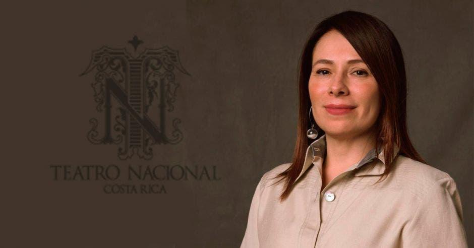 Karina Salguero, directora del Teatro