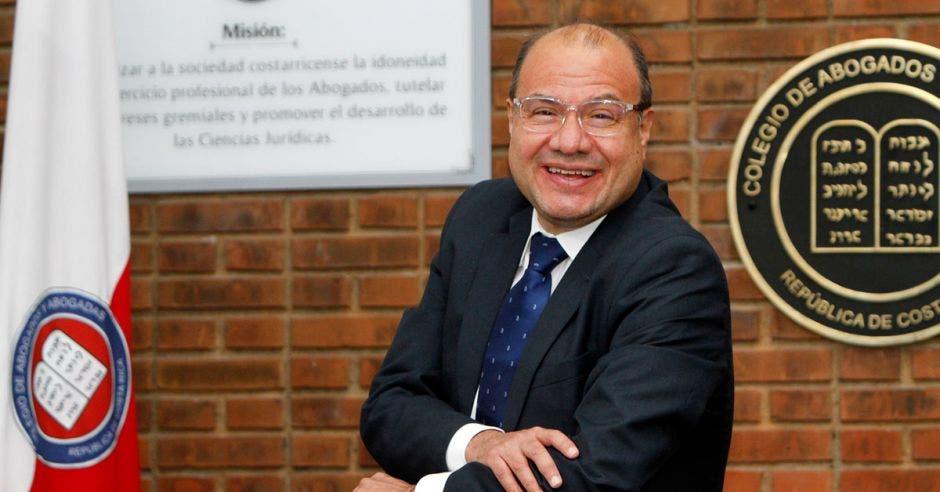 Álvaro Sánchez, presidente del Colegio de Abogados y Abogadas de Costa Rica