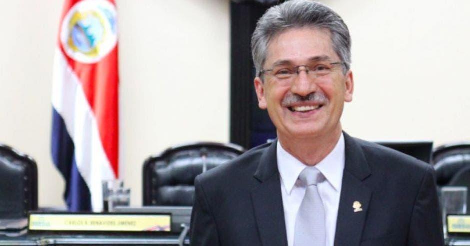 Welmer Ramos sonríe