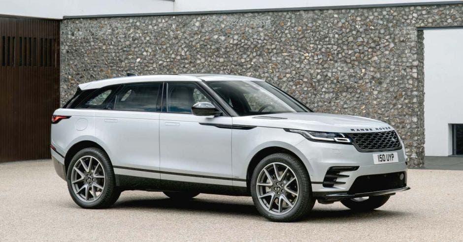 Land Rover velar blanco