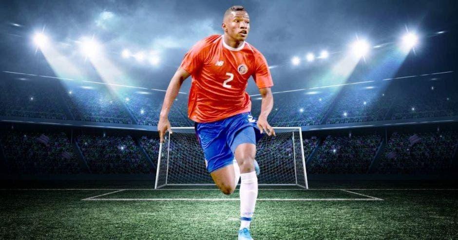 luís Diaz selección Costa Rica