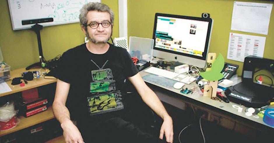 Tomás De Camino, investigador costarricense
