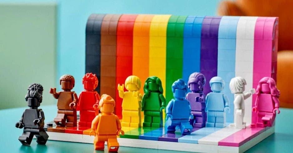 Set de Lego de colores