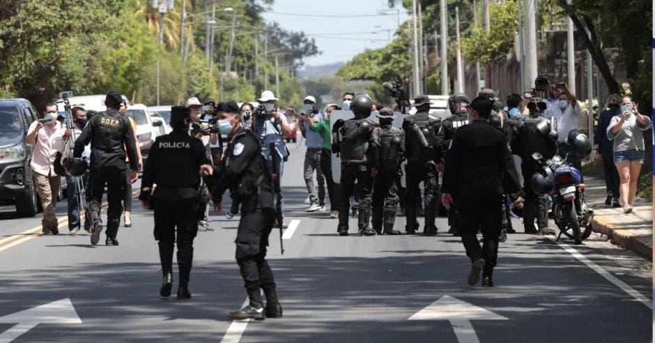 policias nicaragua detencion