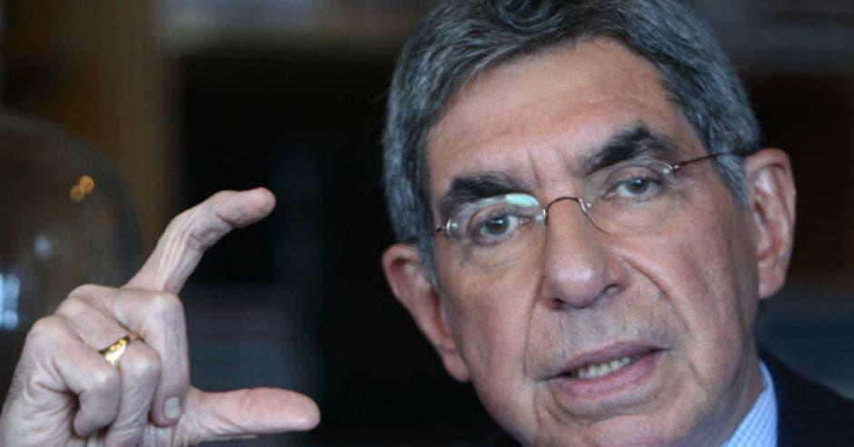Óscar Arias. expresidente. Archivo/La República.