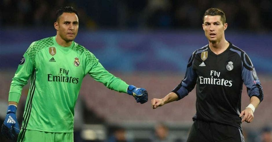 navas keylor y Ronaldo