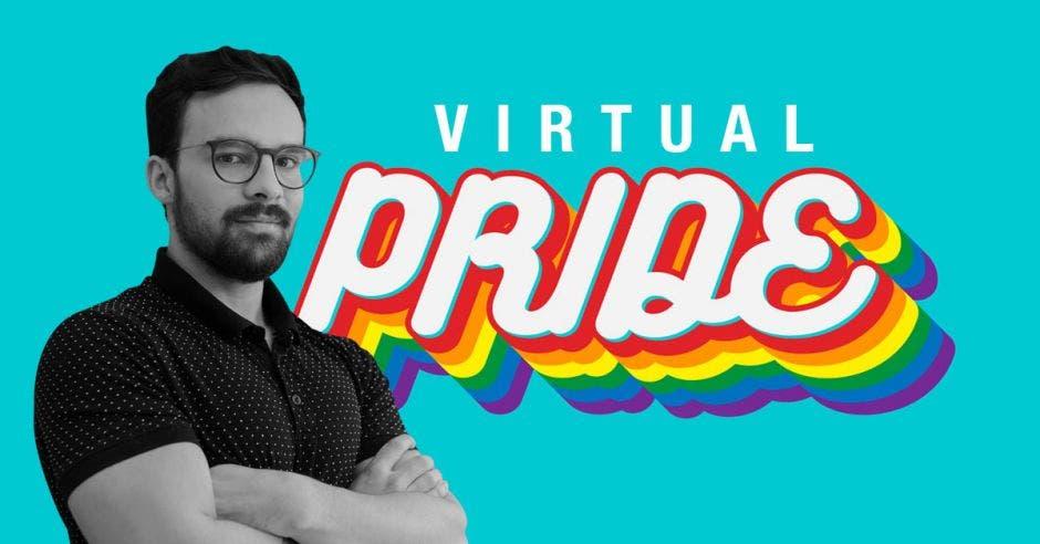 Victor Castro, representante del Pride Virtual