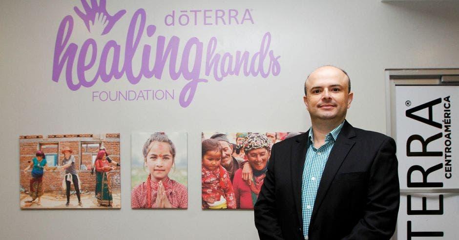Rolando Salazar, gerente DoTerra