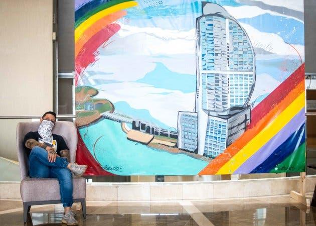 Mural de colores