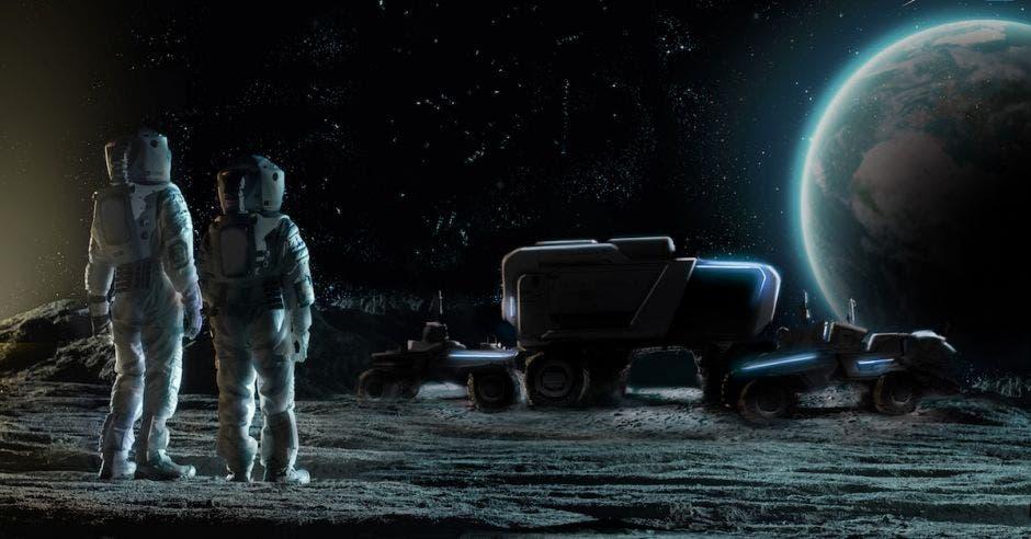 vehículo luna