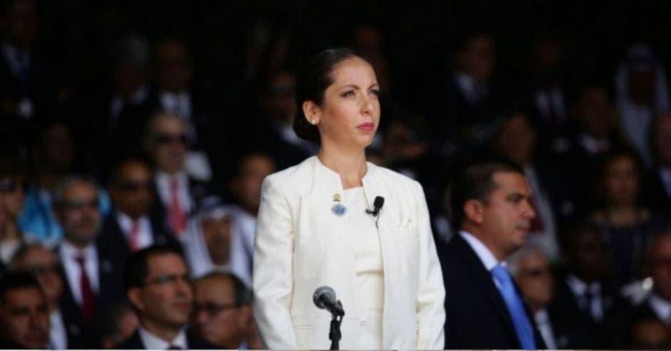 Carolina Hidalgo, precandidata del PAC.
