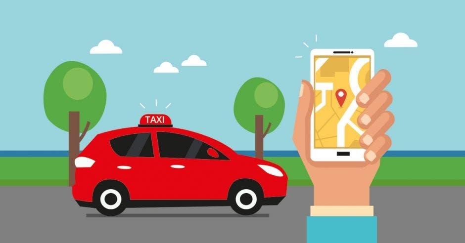 Batsë es la app oficial de los taxistas rojos
