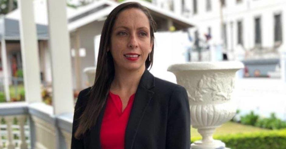 Carolina Hidalgo, aspirante presidencial y diputada del PAC. Archivo/La República