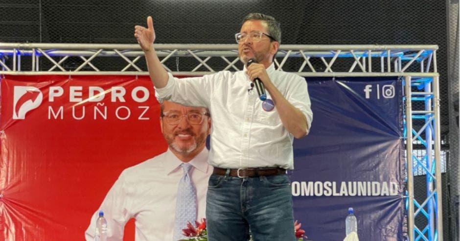 Pedro Muñoz, diputado y precandidato de la Unidad. Archivo/La República