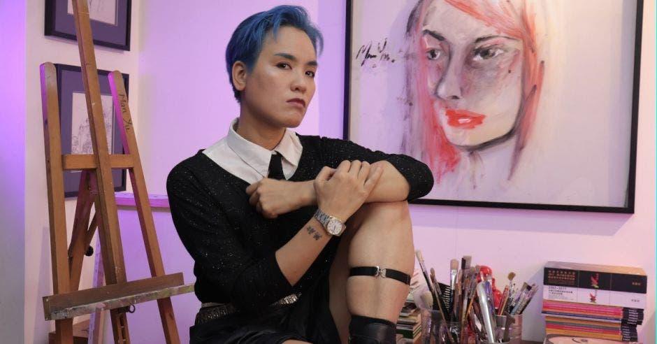 Artista tica Man Yu