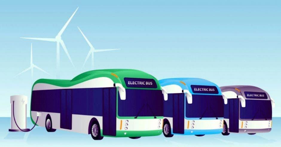 Buses eléctricos obligan a concesiones por 15 años, según gobierno