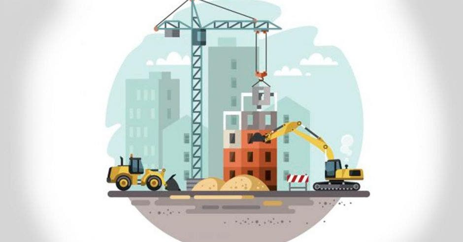 dibujo de construcción