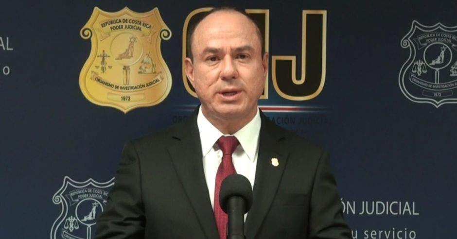 Wálter Espinoza, director del OIJ. Cortesía/La República