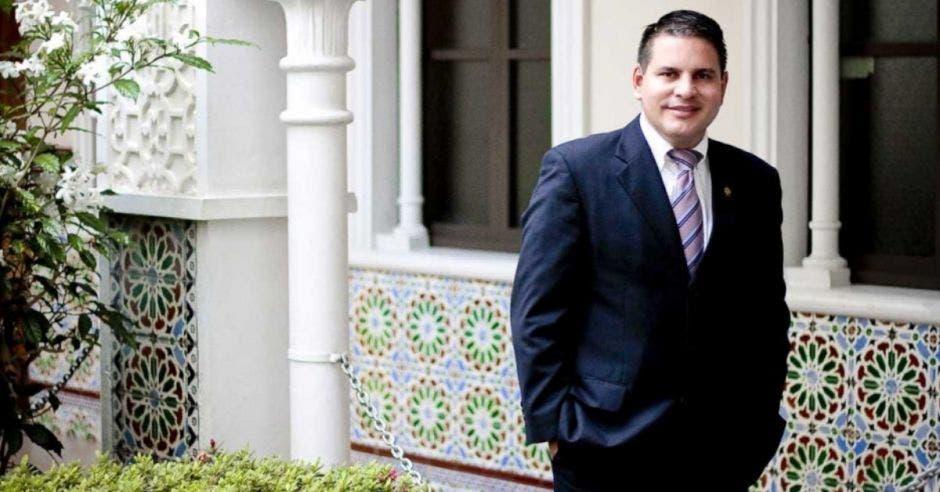 Fabricio Alvarado, candidato de Nueva República.