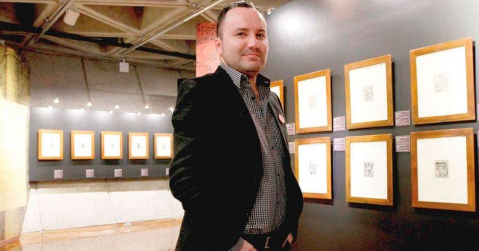 Henry Bastos, director de GAM Cultural y Art City Tour.