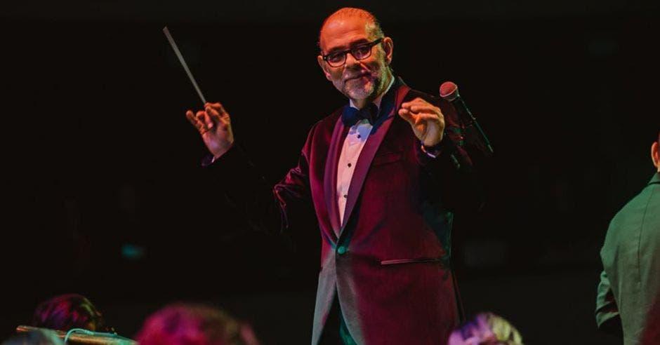 Marvin Araya, director de la Orquesta Filarmónica de Costa Rica.