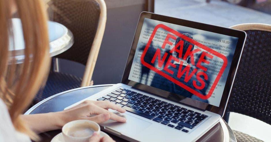 fake news computadora