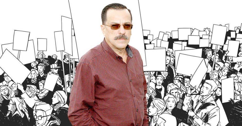 Albino Vargas, secretario de la ANEP.