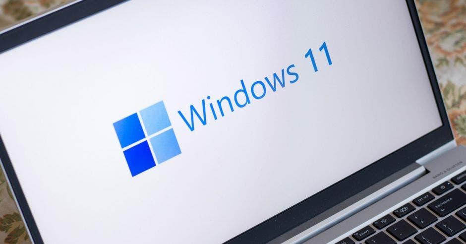 Pantalla de inicio de Windows 11