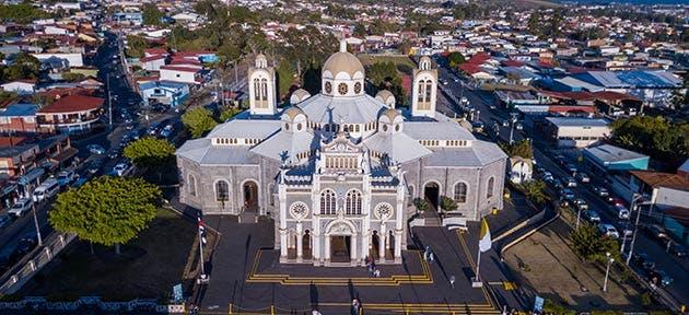 Basílica de Los Ángeles. Shutterstock / La República
