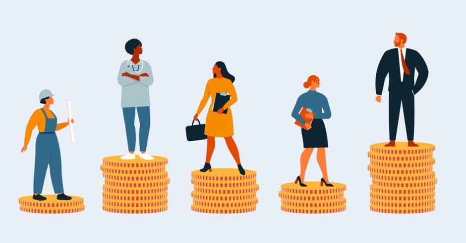 La ley de empleo público establecería un mismo salario por puesto laboral para toda la administración estatal. Shutterstock/La República.