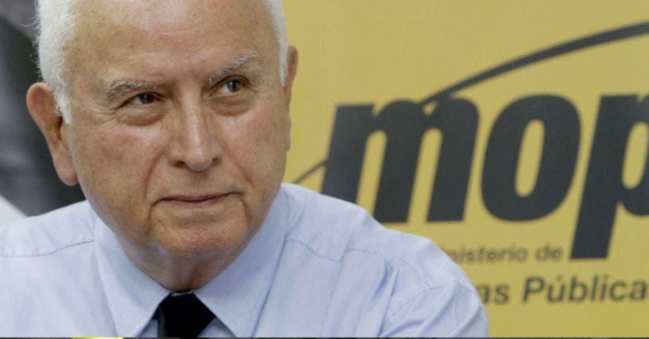 Rodolfo Méndez, ministro del MOPT. Archivo/La República