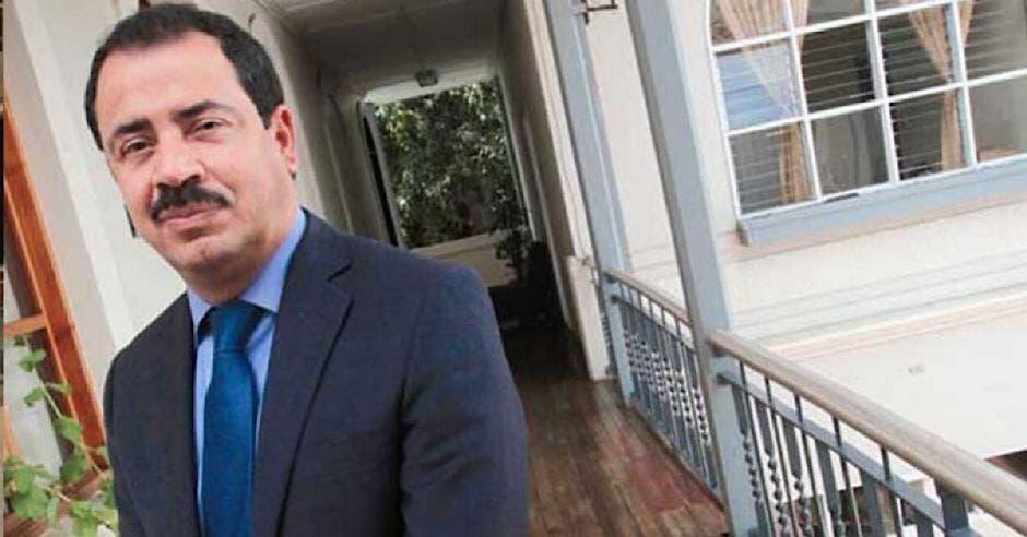Mario Redondo, alcalde de Cartago, renunció hoy a la Coalición para el Cambio.. Archivo/La República