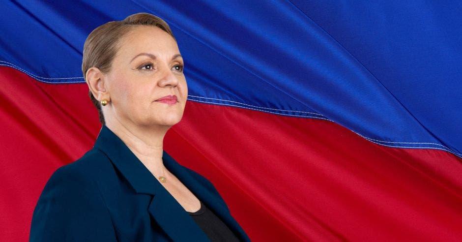 Este domingo, los socialcristianos eligieron a Lineth Saborío como su candidata presidencial para las elecciones de febrero de 2022. Cortesía/La República