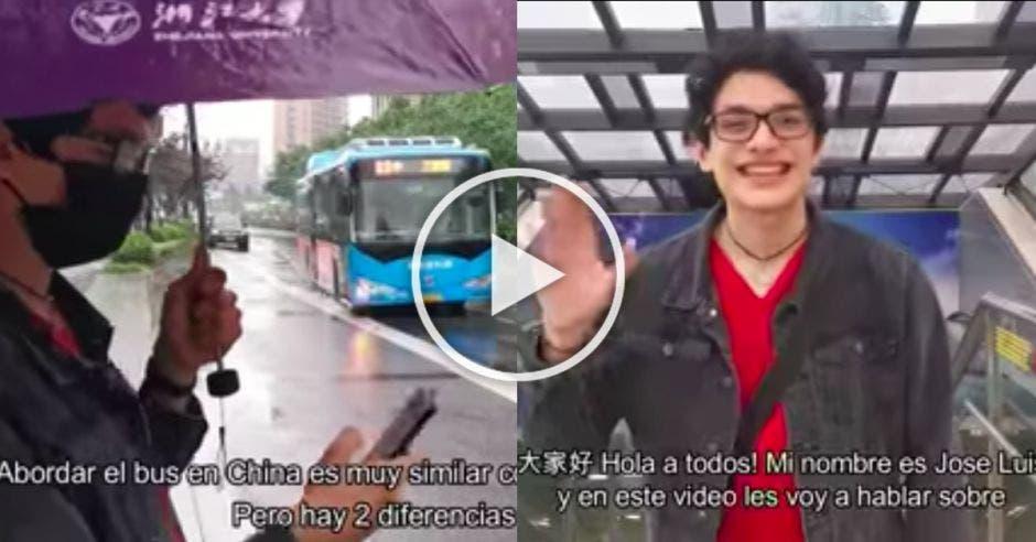 Concurso de Vlog China desde la mirada tica Embajada China
