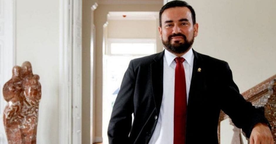 Jonathan Prendas, jefe de fracción de Nueva República.