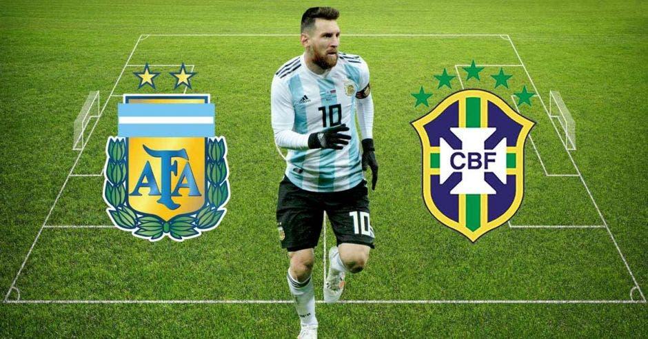 """Messi se """"mata"""" en la cancha para darle a su país la Copa"""