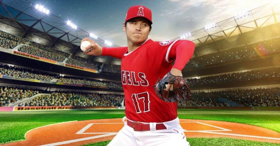 El japonés de los Angelinos, Shohei Ohtani que lanza y batea, es la sensación de temporada