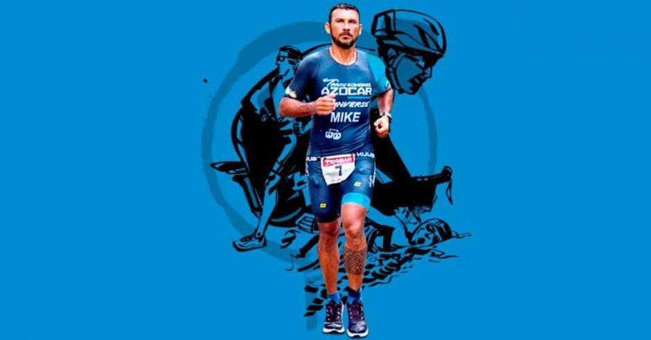 Michael Nuñez hombre corredor