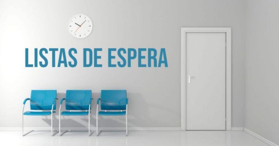 sala de espera fuera de consultorio