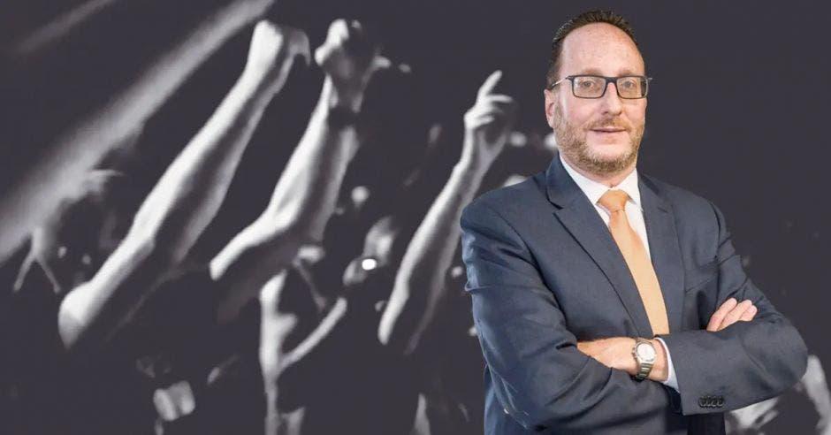 Eli Feinzaig, líder del Partido Liberal Progresista. Archivo/La República
