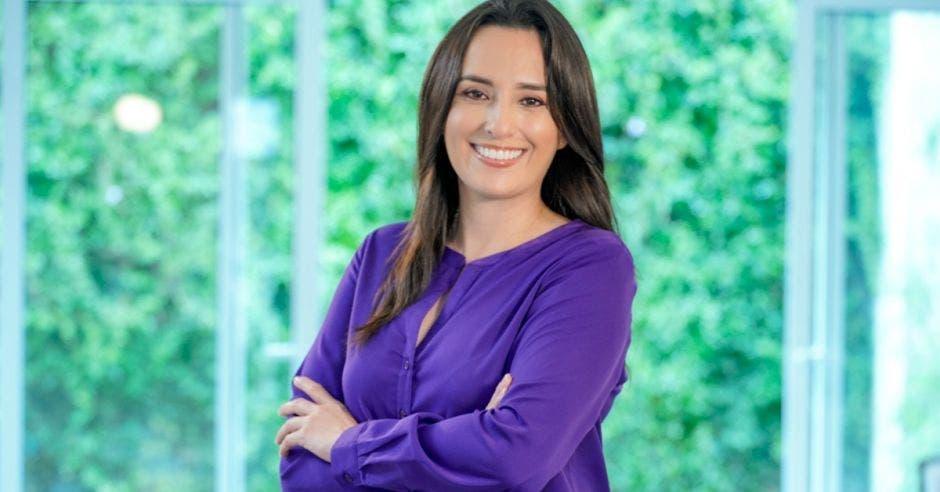 Natalia Díaz, candidata de Unidos Podemos.  Archivo/La República