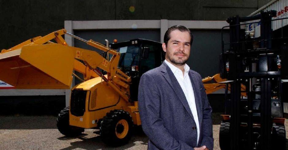 Juan Carlos Bolaños, empresario cementero.