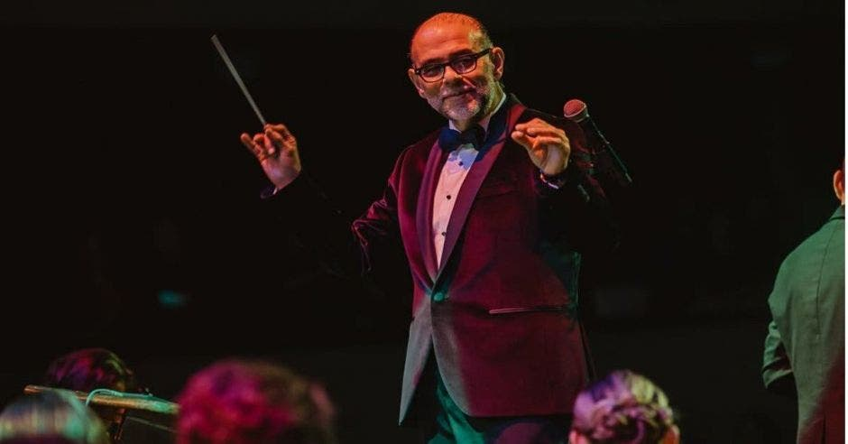 Marvin Araya, director de la Filarmonica