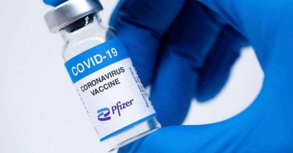 dosis de vacuna contra la Covid-19 de Pfizer