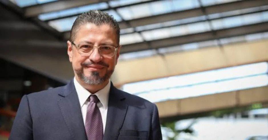Rodrigo Chaves, candidato presidencial. Archivo/La República.