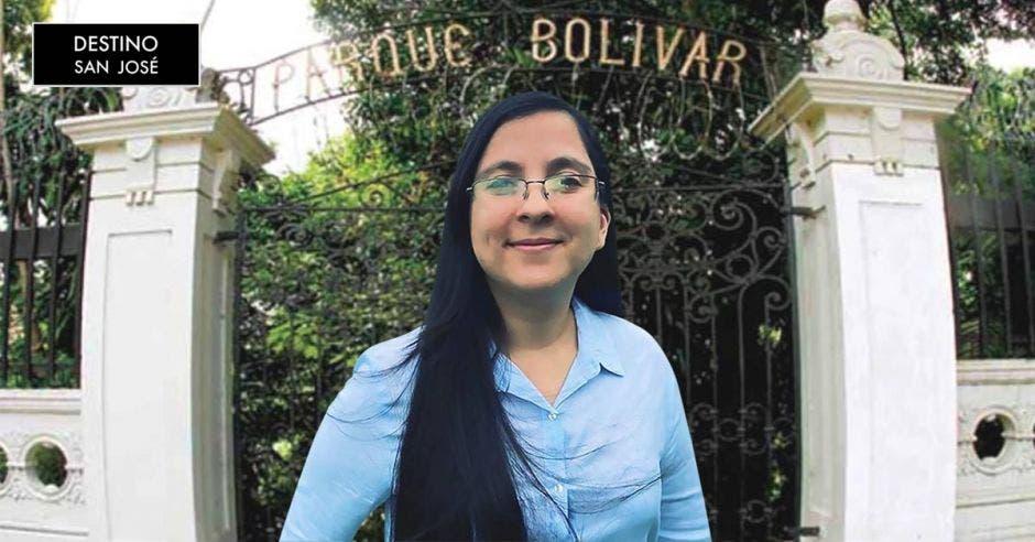 Andrea Brizuela, arquitecta. Archivo/La República