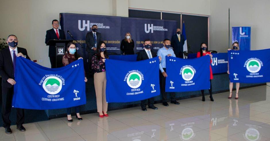 bandera azul ecologica UH