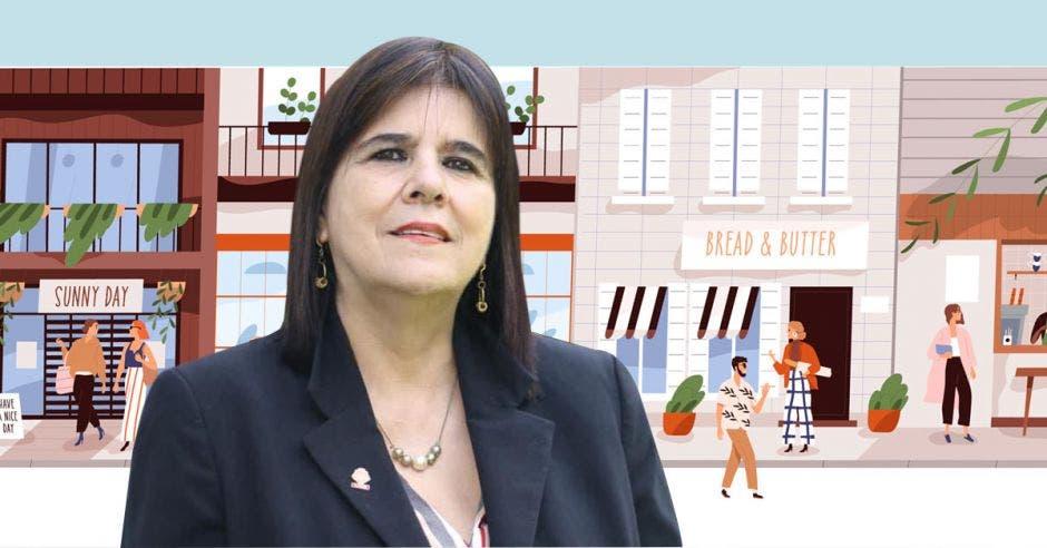 Floria Segreda, diputada de Restauración Nacional